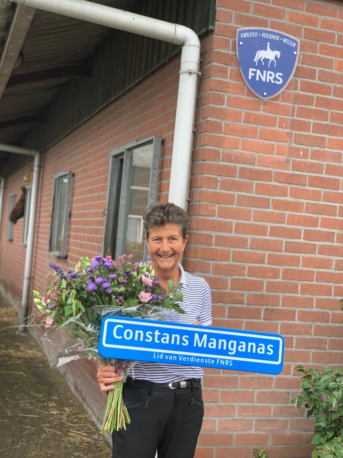 Mooie woorden bij afscheid Constans als voorzitter van de FNRS
